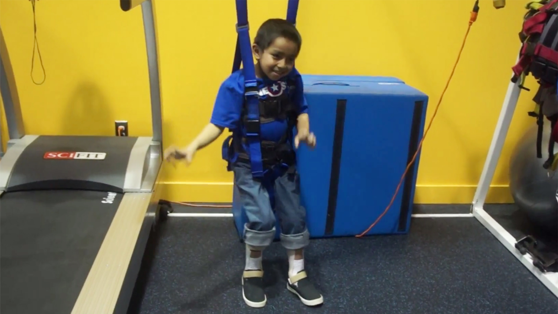 Paralyzed 7 Year Old Boy Bruce Mansy Is Dancing Again