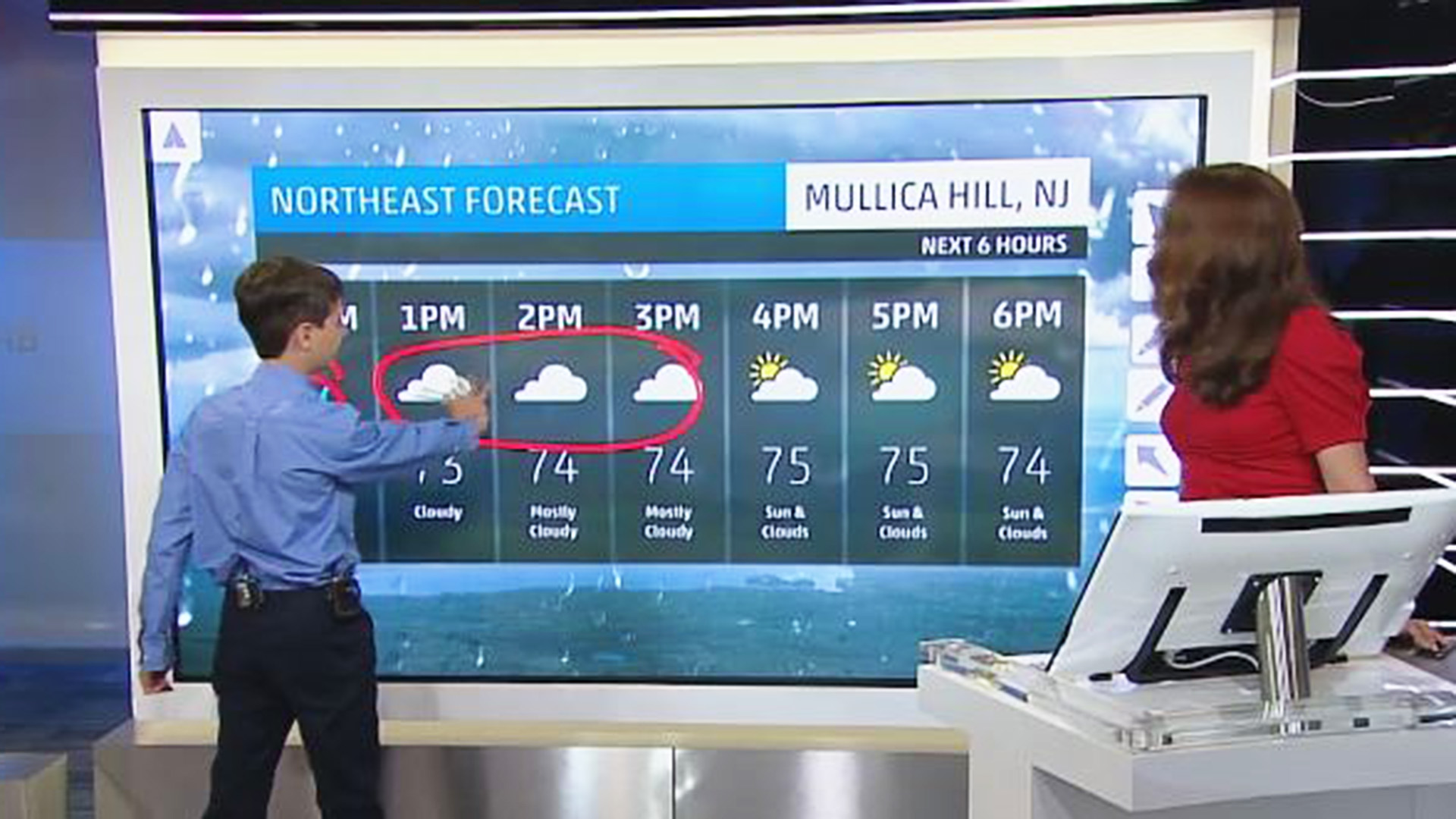 Watch This 11 Year Old Absolutely Crush His Shot At A Live Weather Report