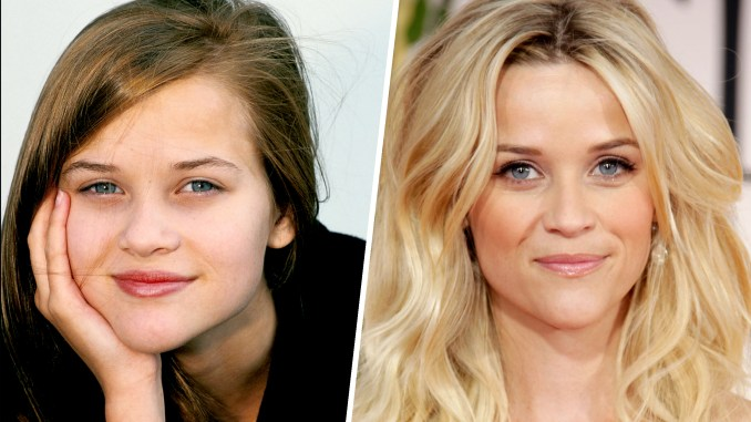 see reese witherspoon's hair evolution