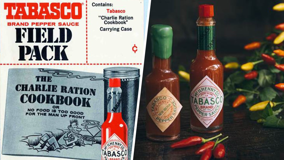 Image result for military issue tabasco hot sauce