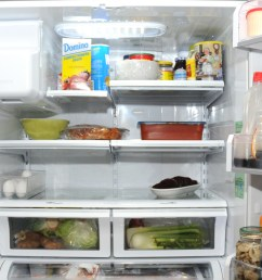 how to keep food fresh in the fridge by storing it in the right place [ 2400 x 1200 Pixel ]