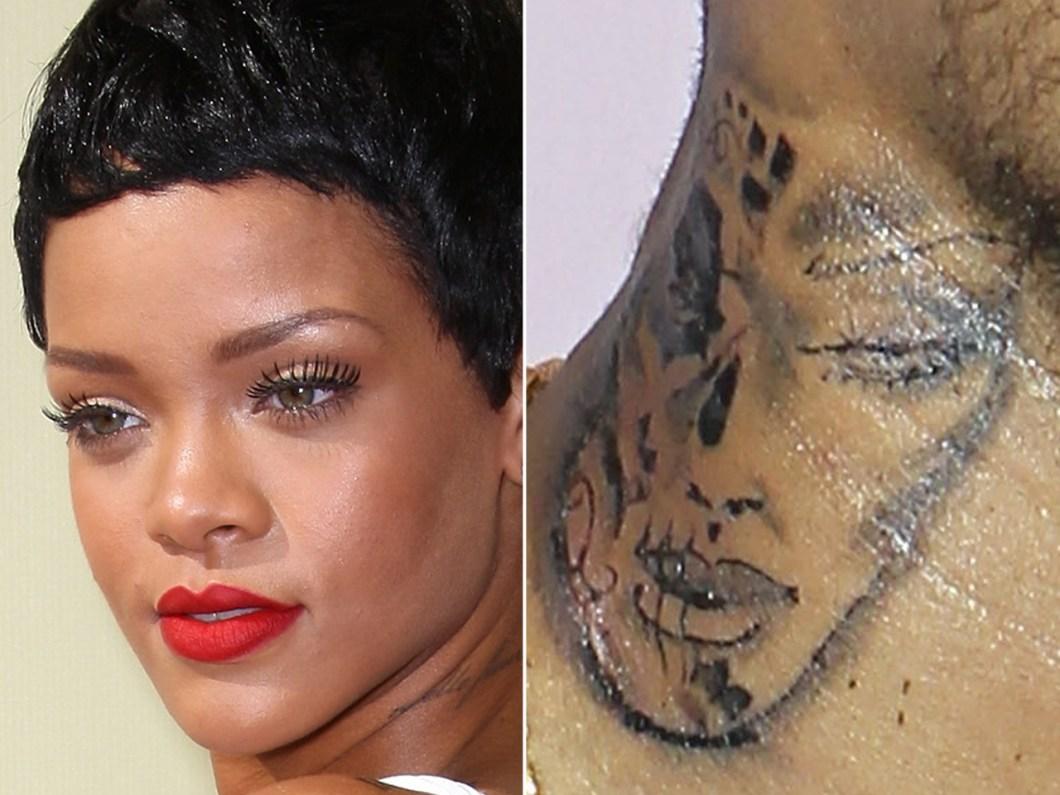 rihanna lip tattoo   julakutuhy.co