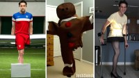Amputee's creative Halloween costumes: Paralympic racer ...