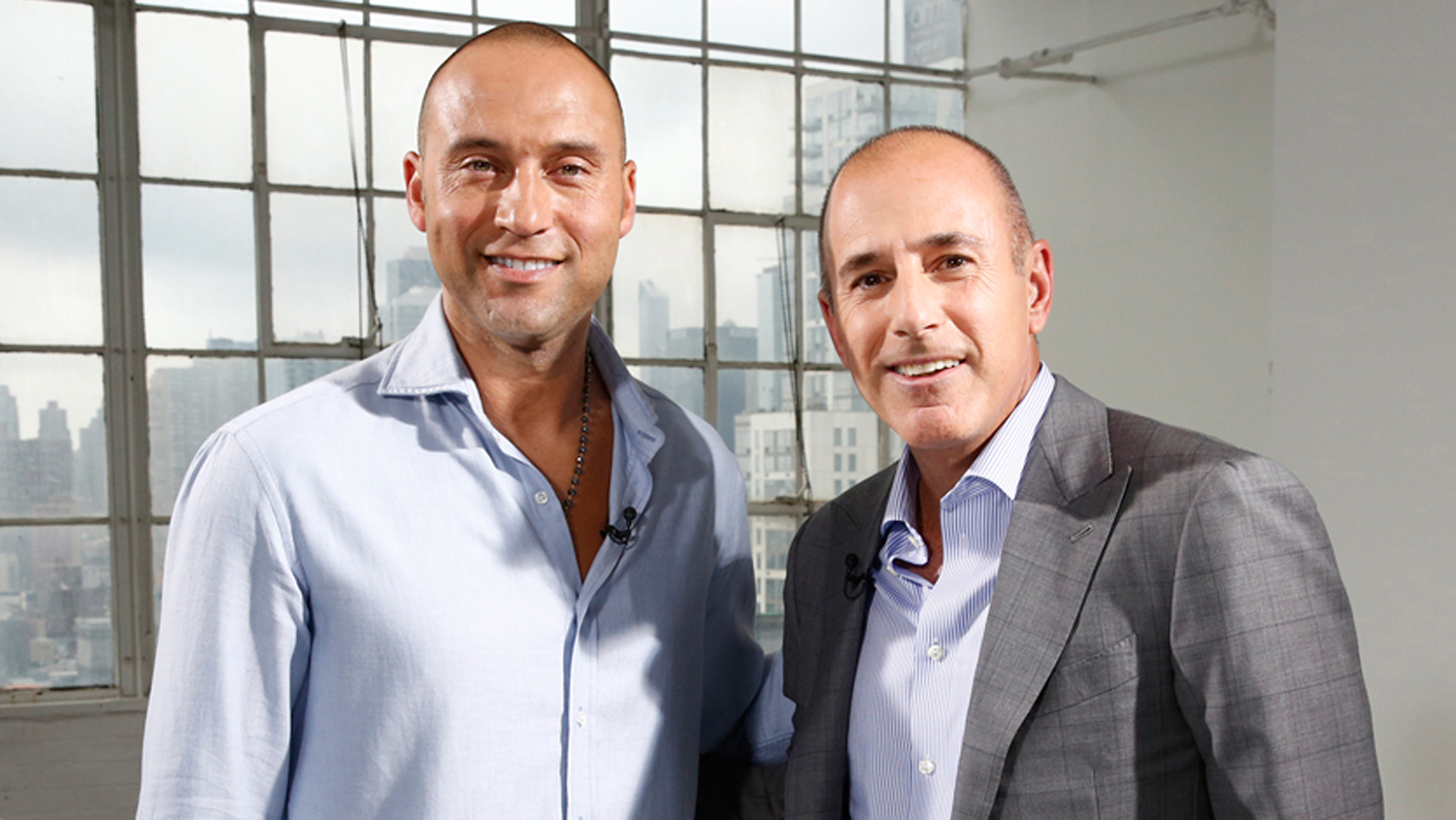 Derek Jeter Talks Life After Retirement Tells Matt Lauer