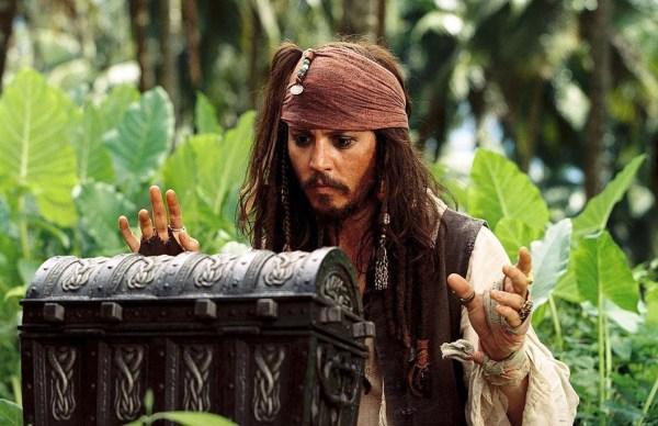 Johnny Depp Pirates of the Caribbean Dead