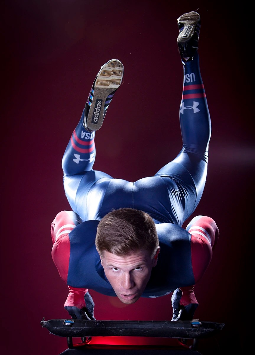 Winter Olympic Athlete Portraits