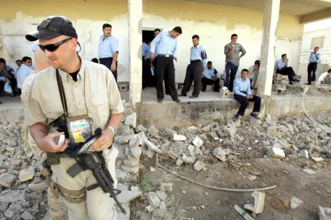 Disarray on 12 billion Iraq contract  World news