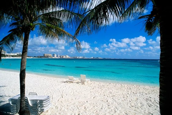 Cancun beach closed for sand stealing probe Travel