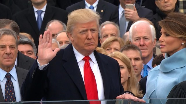 Image result for Trumps oath of office