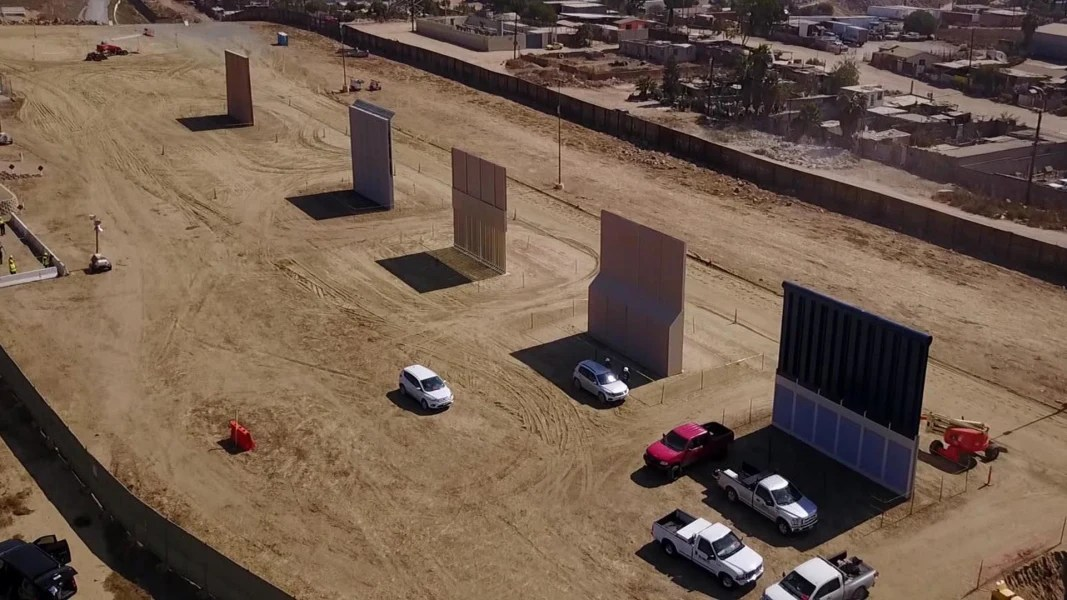 Trump's Border Wall Prototypes Are Complete. Now What
