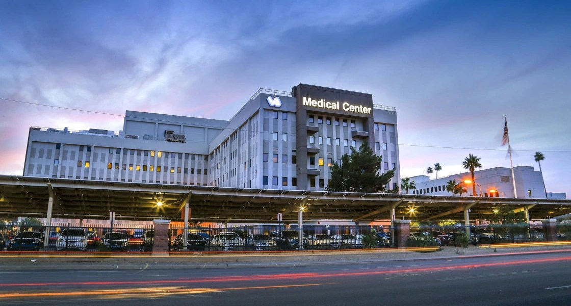 Image: The Veterans Affairs Medical Center in Phoenix, Ariz.
