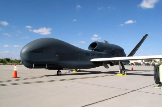 Image: The Global Hawk unmanned high-altitude reconnaissance aircraft