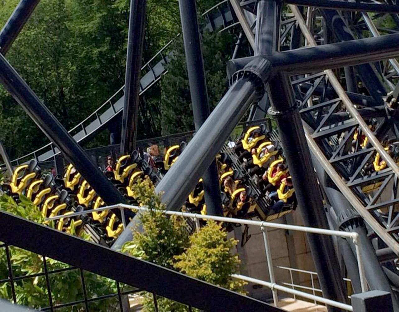 Rollers Roller Coaster Crash