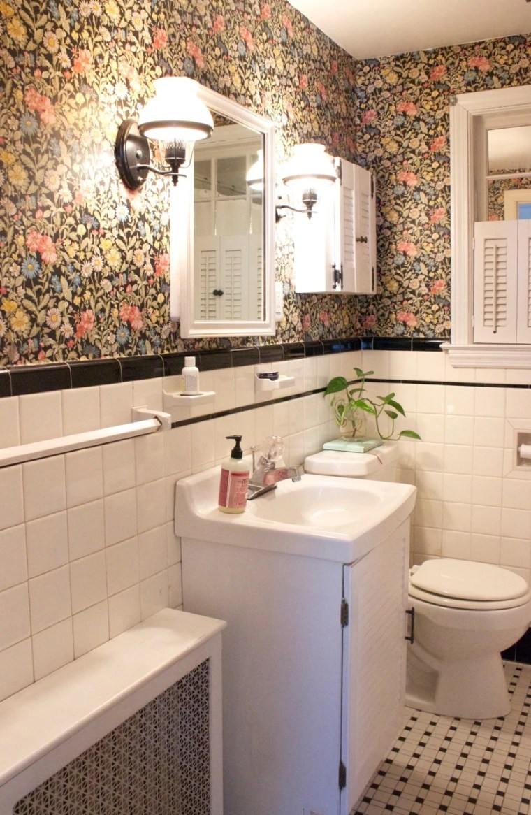 DIY See what this retro bathroom looks like after a 200 makeover