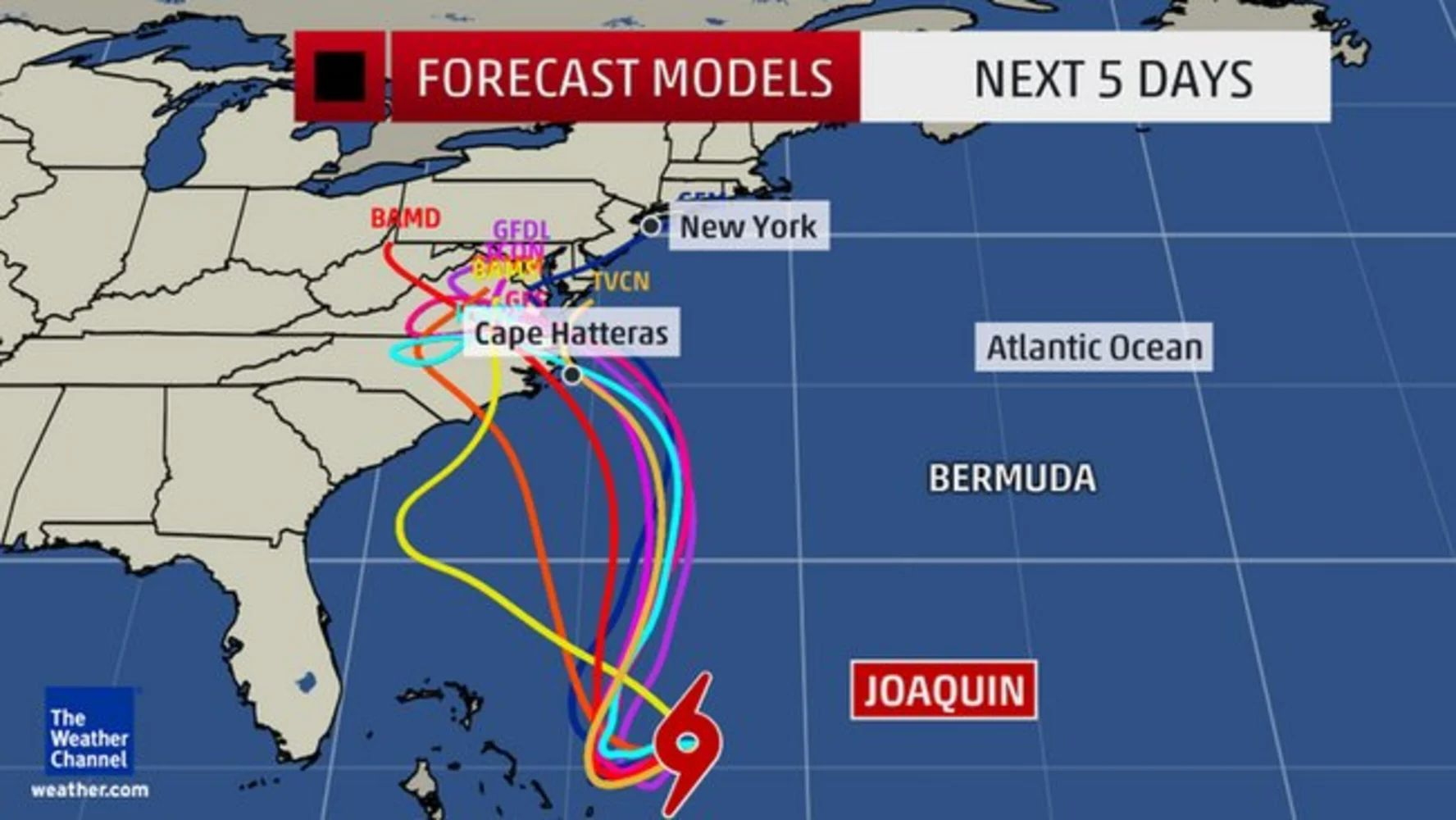 weather channel atlantic forecast