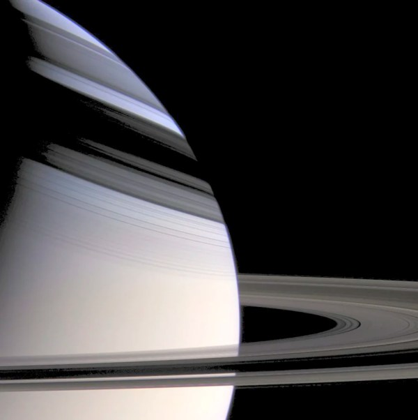 Cassini Saturn Shadow Rings