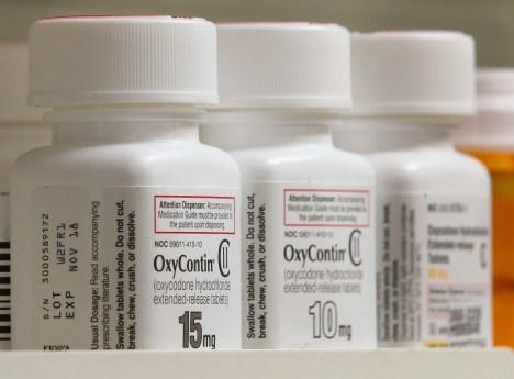 Pharmaceutical Drug Roundup Inside A Pharmacy