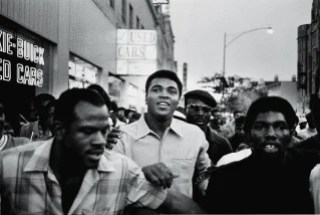 Image: Muhammad Ali walks through New York with members of the Black Panther Party in 1970.