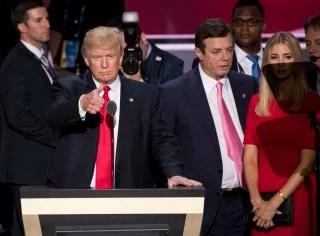 Image: Trump, Manafort