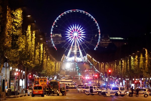 Paris Shooting Police Officer Killed Two Wounded In Champs-elysees Attack - Nbc