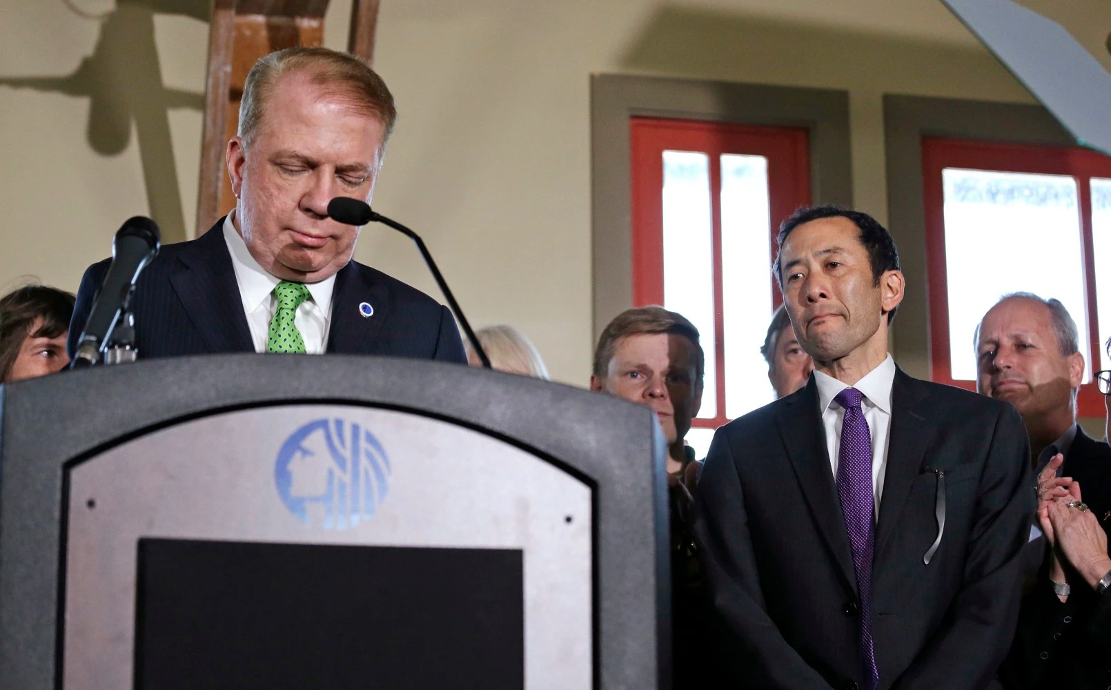 Seattle mayor drops re-election bid after sex abuse claims