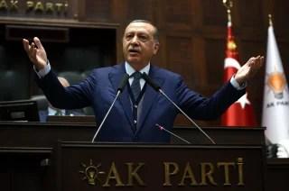 Image: Turkish President Recep Tayyip Erdogan