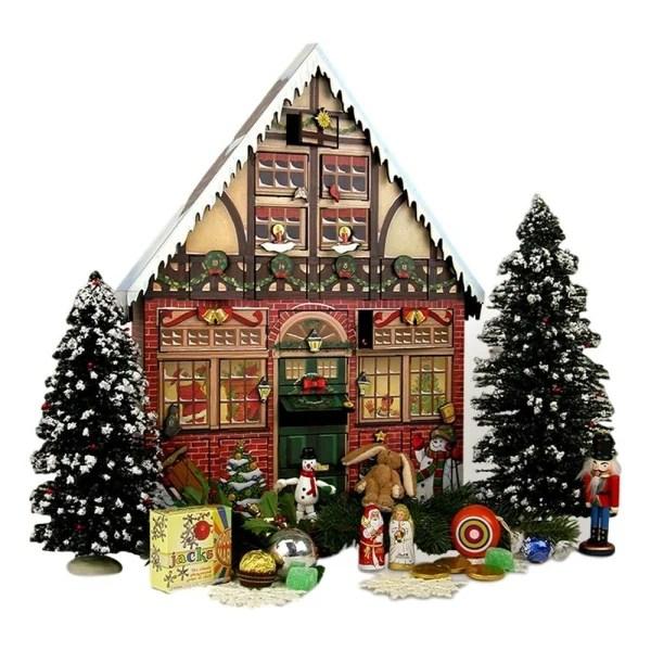 Religious Advent Calendar Wood