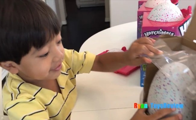 Meet The 6 Year Old Boy Who Makes Millions Reviewing Toys