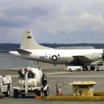 Image: EP-3E Aries II reconnaissance plane