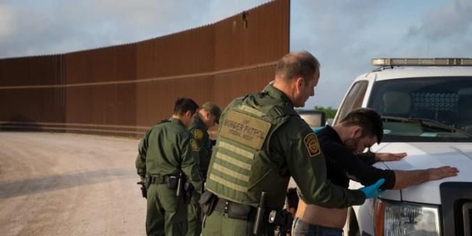 Image: Border Patrol arrests