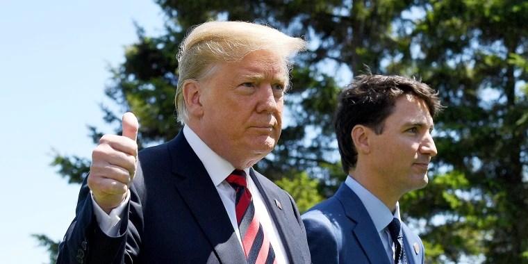Trump saca a los Estados Unidos de la declaración