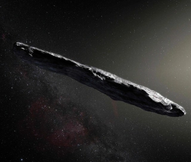 Scientists Say Mysterious Oumuamua Object Could Be An Alien