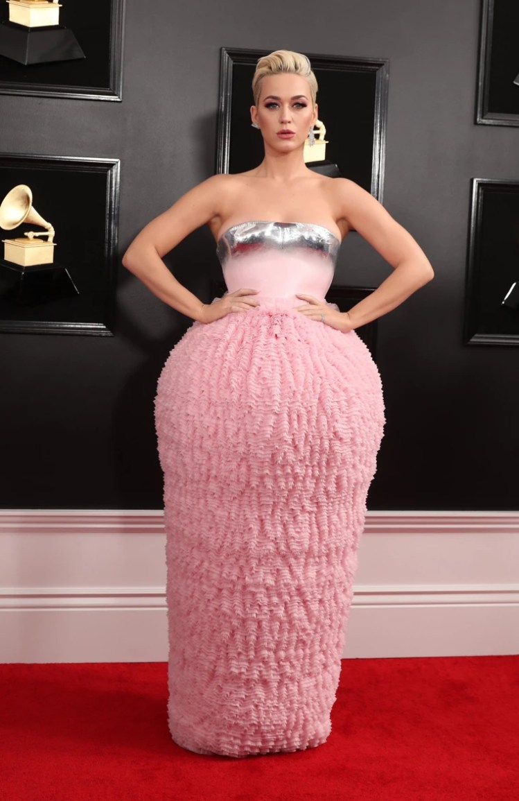 Image: Katy Perry at Grammys 2019