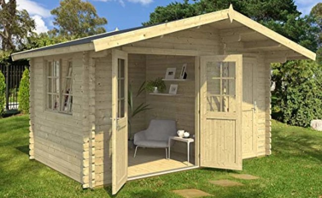 Amazon Is Selling A Garden Guest House You Can Build