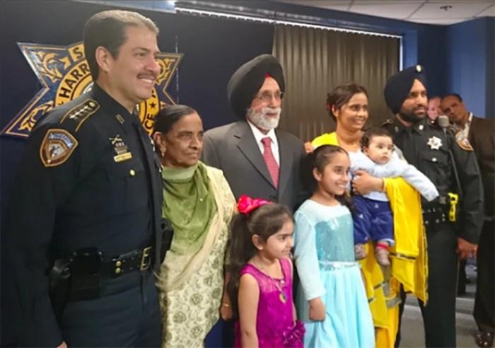 Image: Dhaliwal family