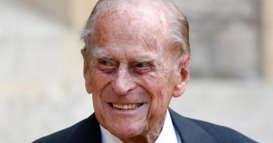 Prince Philip, husband of Queen Elizabeth II of the United Kingdom, admitted to the hospital