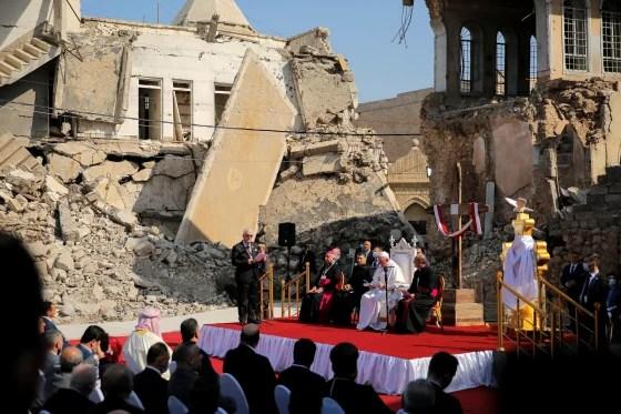 Imagen: Papa Francisco visita Irak