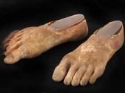 hairy hobbit feet 'lord of