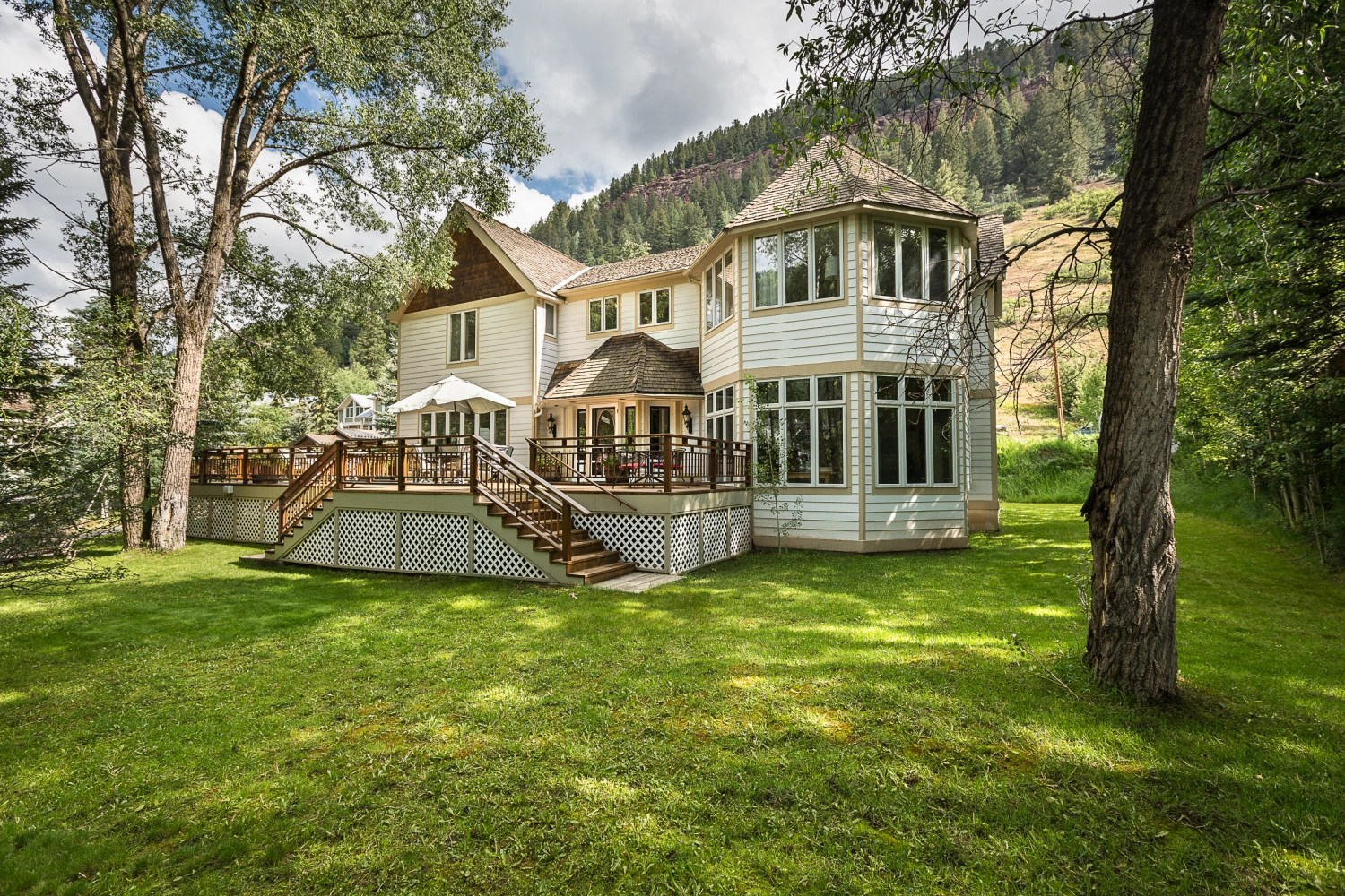 The Former Home Of Concert Promoter Bill Graham Is For Sale In Telluride,  Colo.