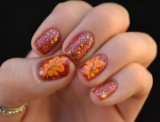 thanksgiving nail art 13 festive