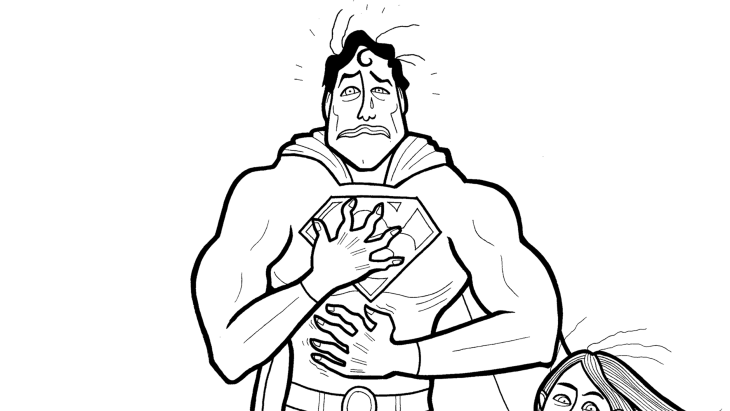 Mom creates a coloring book to show son that superheroes