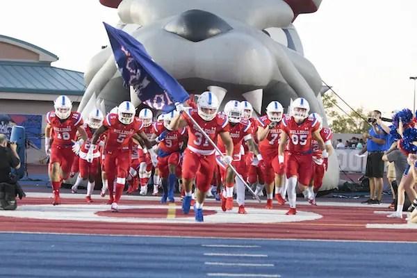 Folsom, Football, Bulldogs