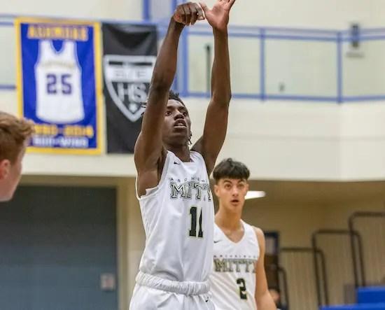 Mitty boys basketball, Marcus Greene