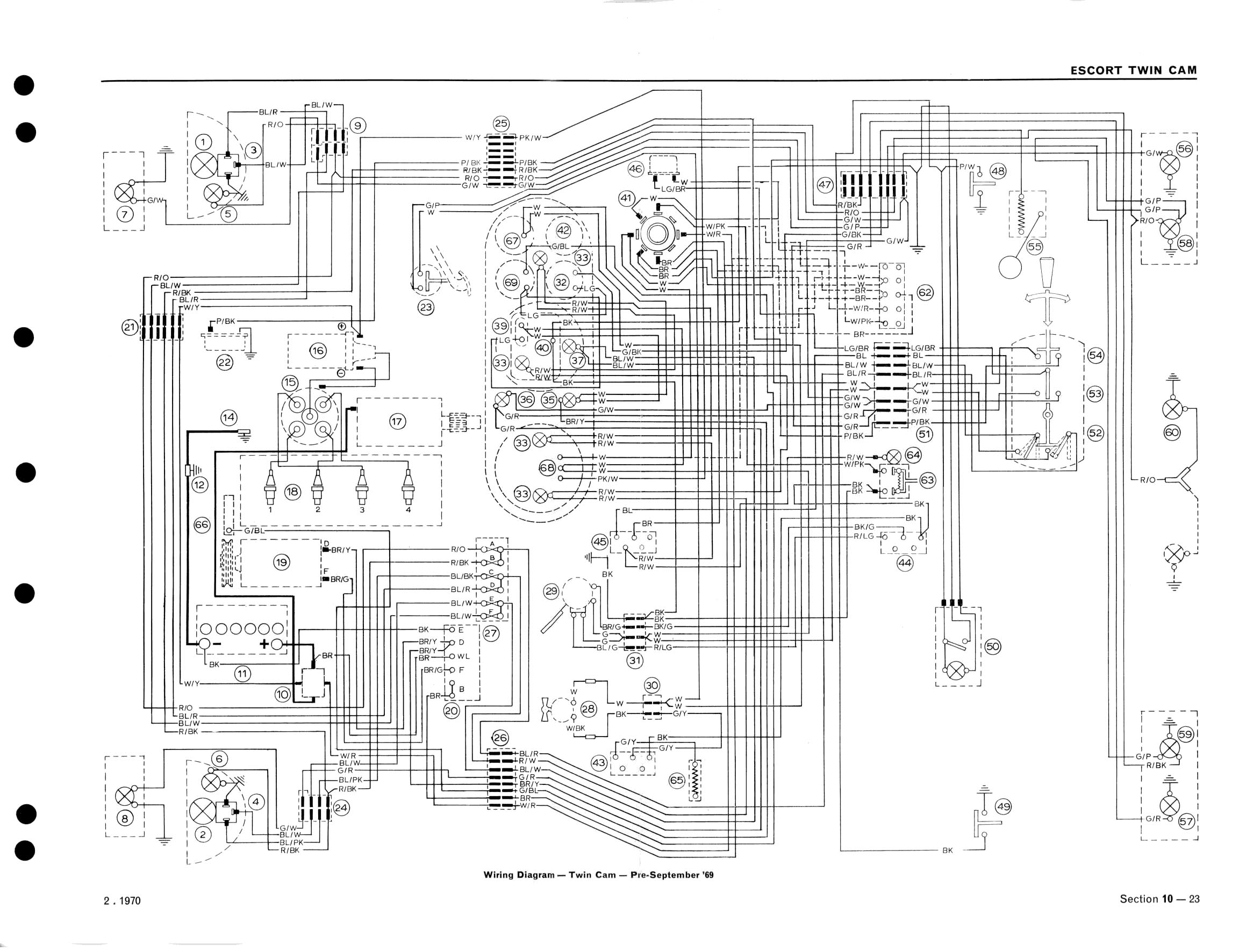 ford fiesta mk2 wiring diagram 2004 chevy venture radio escort rs turbo