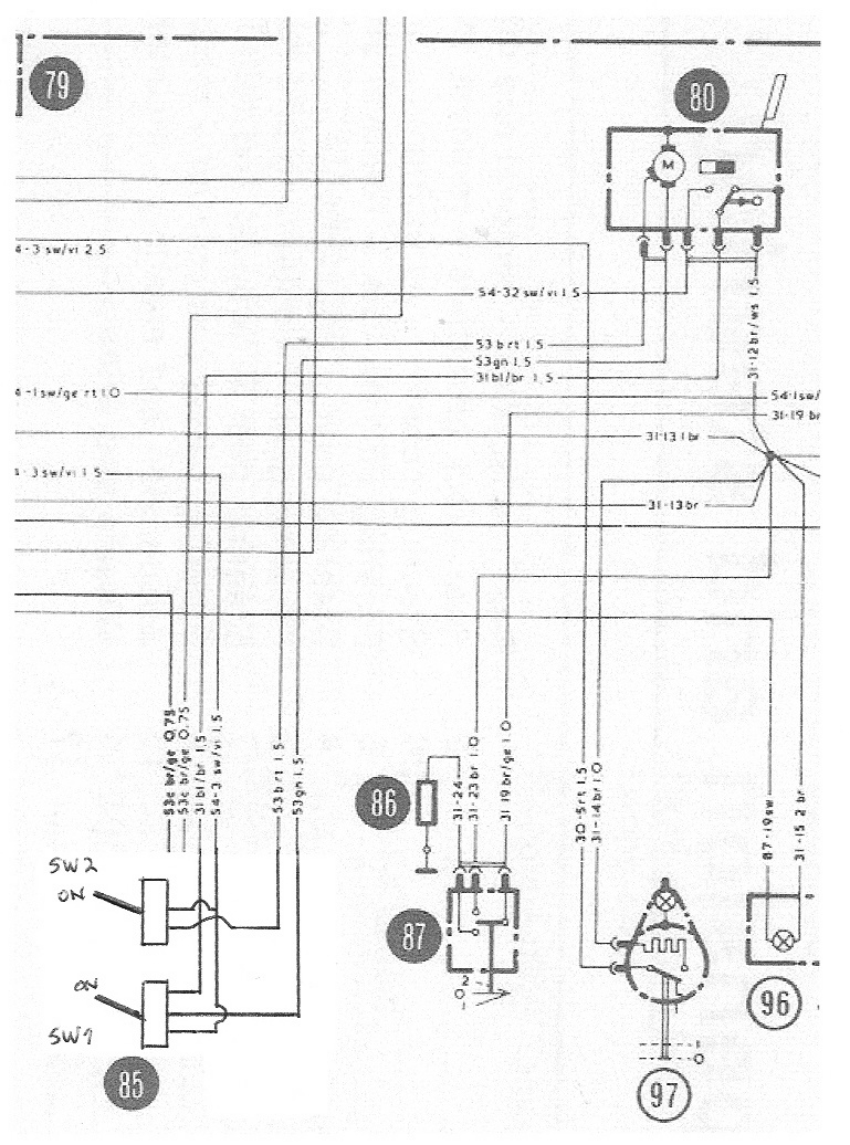 ford escort wiring diagram 3 phase power help wanted mk2 wiper motor switch re