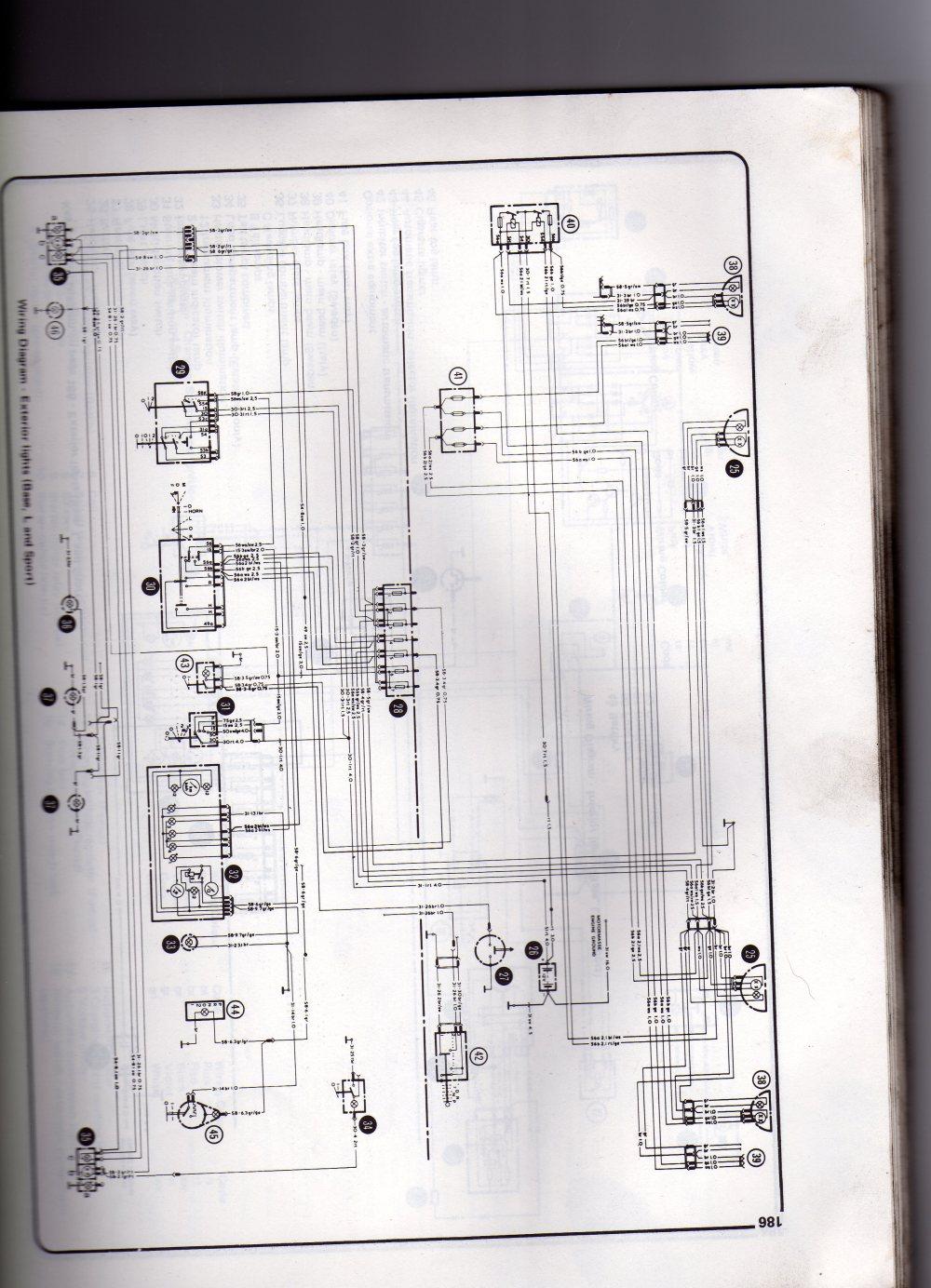 medium resolution of re mk2 escort wiring diagam