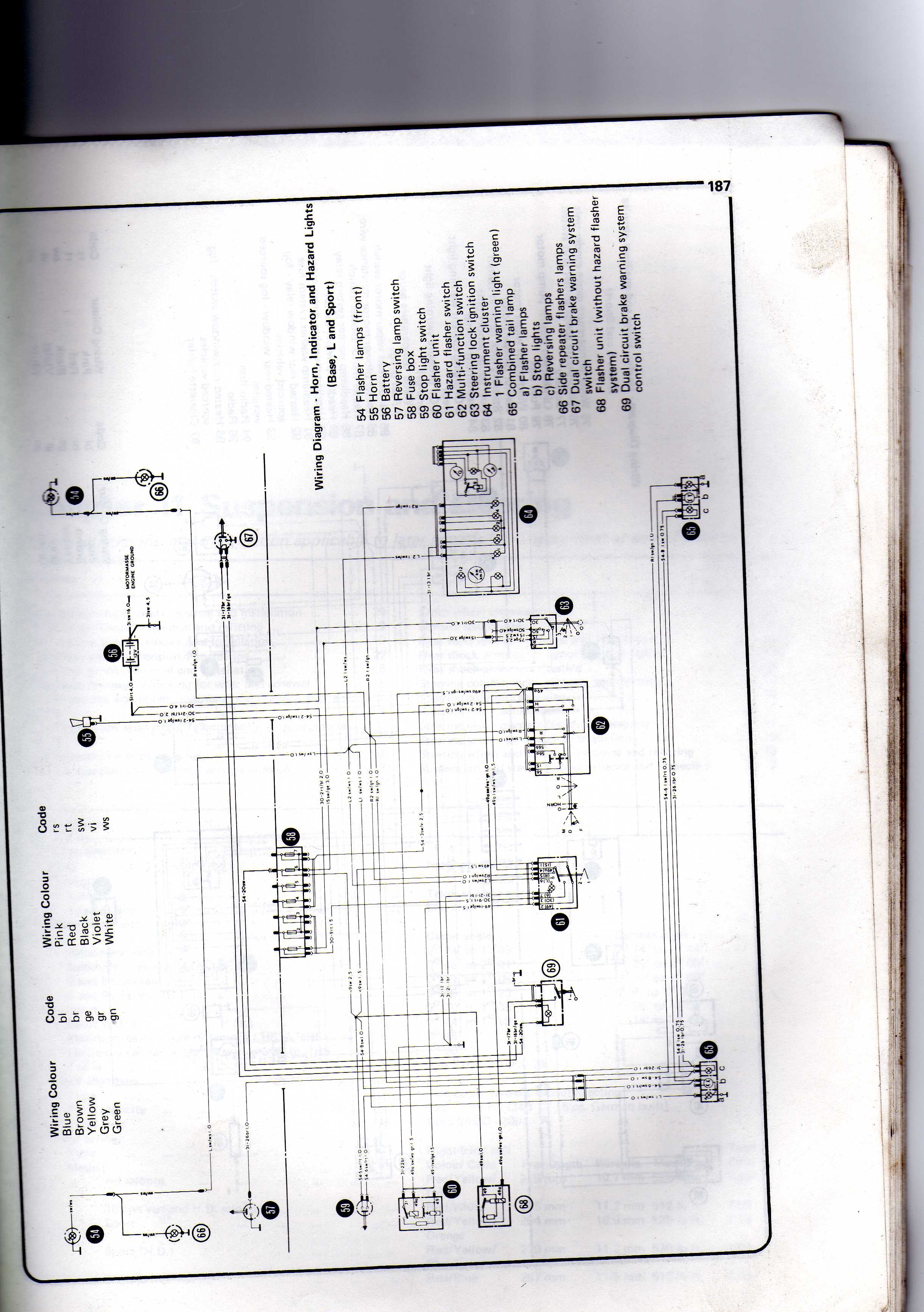 Mk2 Escort Wiring Diagam