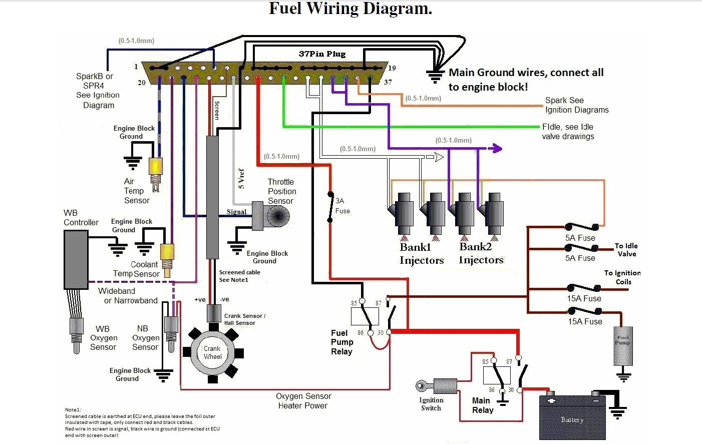 ford escort mk2 wiring diagram 1990 honda accord alternator rs turbo