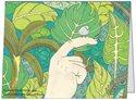 vykort fågel, illustration av Catharina Ullerud