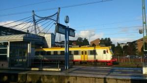 Byte i Hässleholm på ditresan